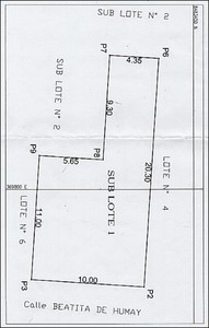 Venta de Terreno en Pisco, Ica 150m2 area total - vista principal