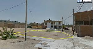 Venta de Terreno en Pimentel, Lambayeque 332m2 area total - vista principal