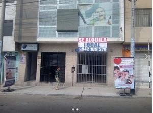 Alquiler de Local en Villa Maria Del Triunfo, Lima con 1 baño - vista principal