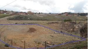 Venta de Terreno en Chinchero, Cusco 1100m2 area total - vista principal