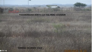 Venta de Terreno en Zarumilla, Tumbes 50000m2 area total - vista principal