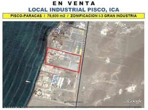 Venta de Local en Paracas, Ica 79600m2 area total - vista principal