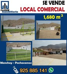 Venta de Local en Pachacamac, Lima con 4 baños - vista principal