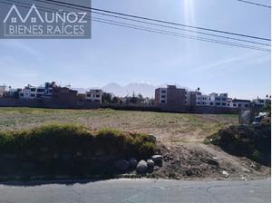 Venta de Terreno en Sachaca, Arequipa 4400m2 area total - vista principal
