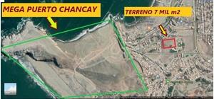 Venta de Terreno en Chancay, Lima 7414m2 area total - vista principal