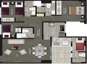 Venta de Departamento en Castilla, Piura con 2 dormitorios - vista principal