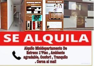 Alquiler de Departamento en Trujillo, La Libertad 30m2 area total - vista principal