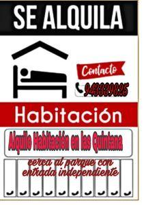 Alquiler de Habitación en Trujillo, La Libertad 20m2 area total - vista principal