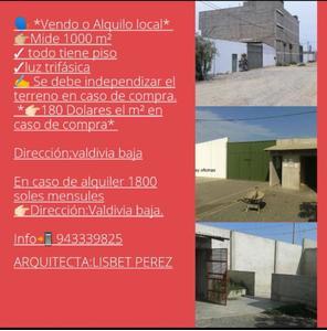 Alquiler de Terreno en Trujillo, La Libertad 1000m2 area total - vista principal
