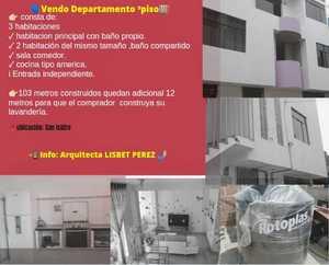Venta de Departamento en Trujillo, La Libertad 112m2 area total - vista principal