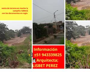 Venta de Terreno en Trujillo, La Libertad 1200m2 area total - vista principal