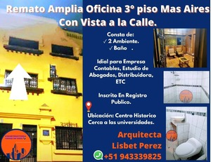 Venta de Oficina en Trujillo, La Libertad 40m2 area total - vista principal