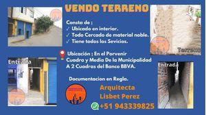 Venta de Terreno en El Porvenir, La Libertad 91m2 area total - vista principal