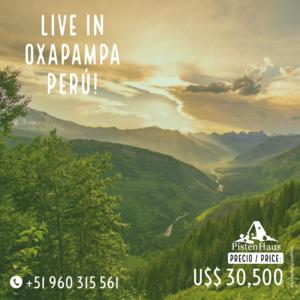 Venta de Terreno en Oxapampa, Pasco 380m2 area total - vista principal