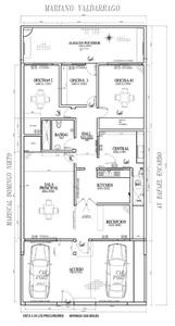 Alquiler de Oficina en Lima con 2 baños 220m2 area total - vista principal