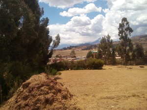 Venta de Terreno en Chinchero, Cusco 630m2 area total - vista principal