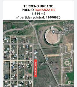Venta de Terreno en Characato, Arequipa 1514m2 area total - vista principal