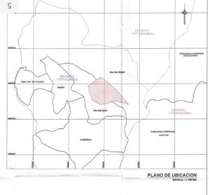 Venta de Terreno en Coyllurqui, Apurimac 12000000m2 area total - vista principal