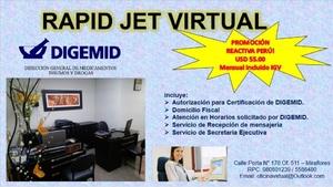Alquiler de Oficina en Miraflores, Lima amoblado - vista principal