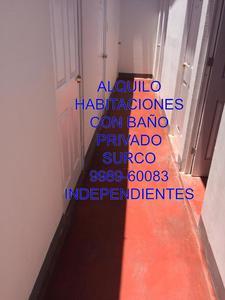 Alquiler de Habitación en Santiago De Surco, Lima con 1 baño - vista principal