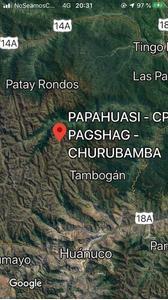 Venta de Terreno en Churubamba, Huanuco 500000m2 area total - vista principal