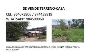 Venta de Terreno en Cajamarca 1040m2 area total estado Preventa - vista principal