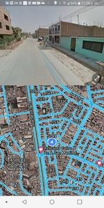 Venta de Terreno en Lima 120m2 area total 15 metros fondo - vista principal