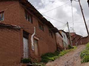 Venta de Terreno en Cusco 300m2 area total 30 metros fondo - vista principal