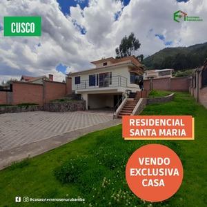Venta de Casa en Cusco 4882m2 area total 198m2 area construida - vista principal