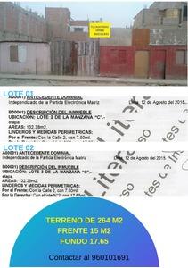 Venta de Terreno en San Martin De Porres, Lima 122m2 area total - vista principal