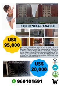 Venta de Departamento en Los Olivos, Lima amoblado - vista principal