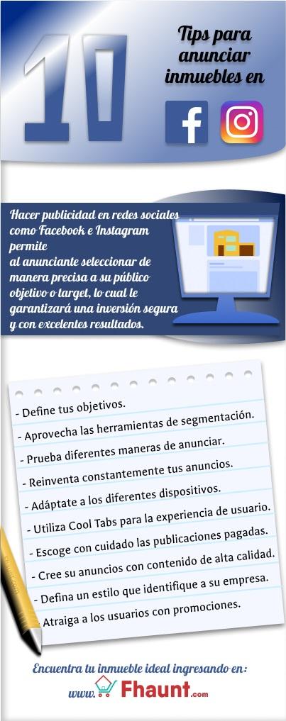 Infografia sobre Tips para redes sociales